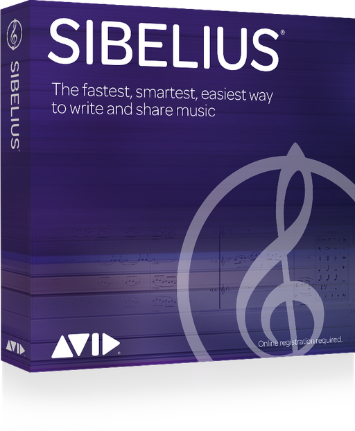 Avid Sibelius Perpetual License - Music Bliss Malaysia