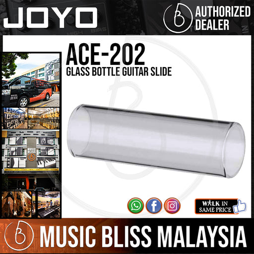 Joyo ACE-202 Glass Bottle Guitar Slide (ACE202)