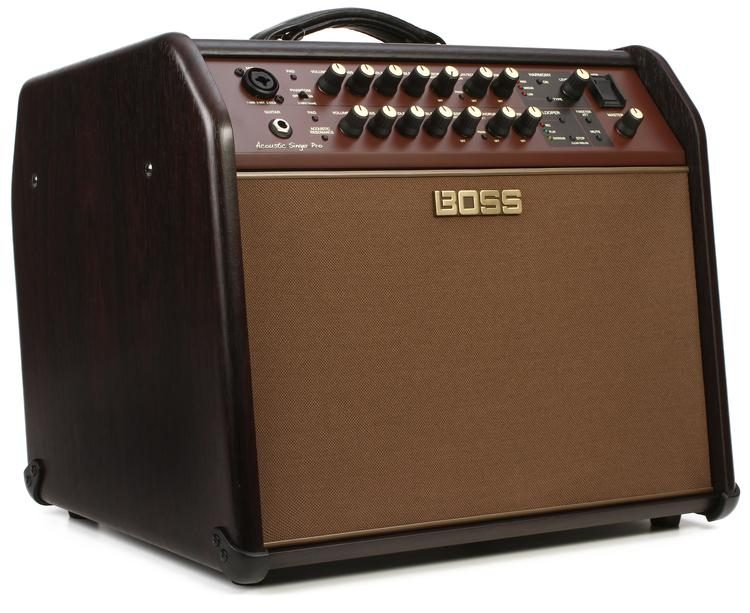 Boss Acoustic Singer Pro 120-watt Acoustic Combo Amplifier