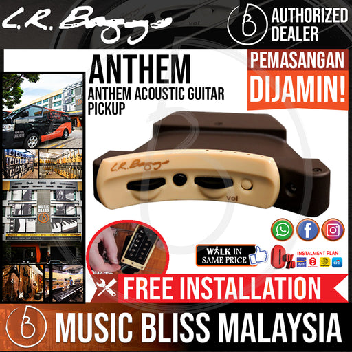 LR Baggs Anthem Acoustic Guitar Pickup *Crazy Sales Promotion* - Music Bliss Malaysia