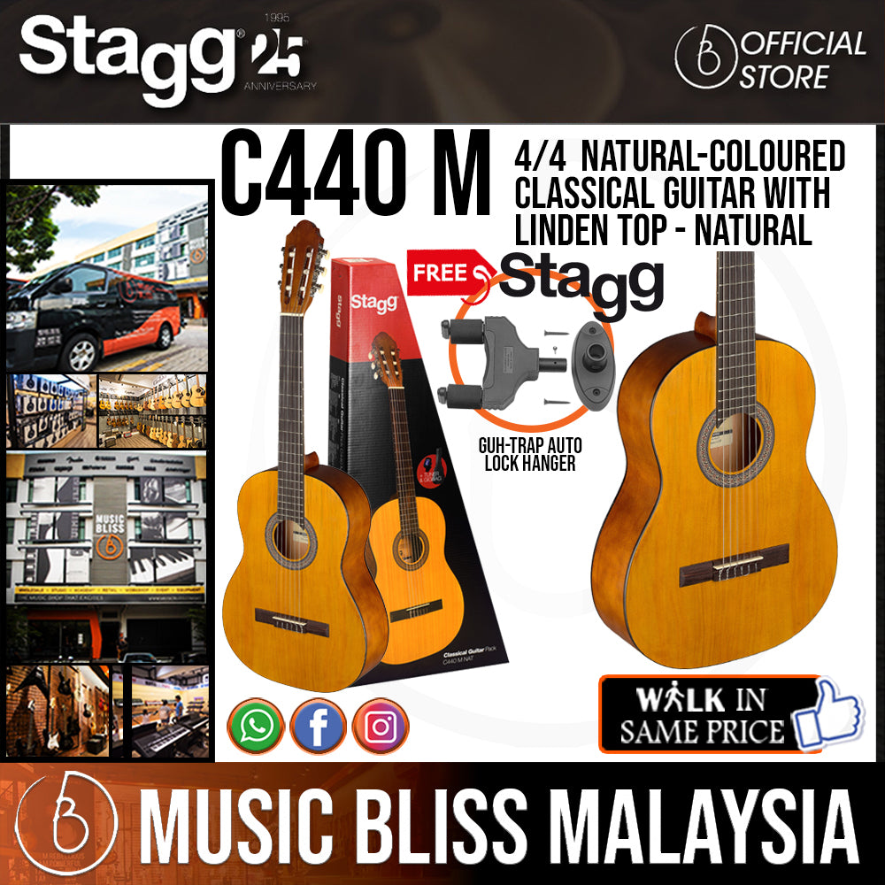 Stagg C440 Classical Guitar 4//4 Natural