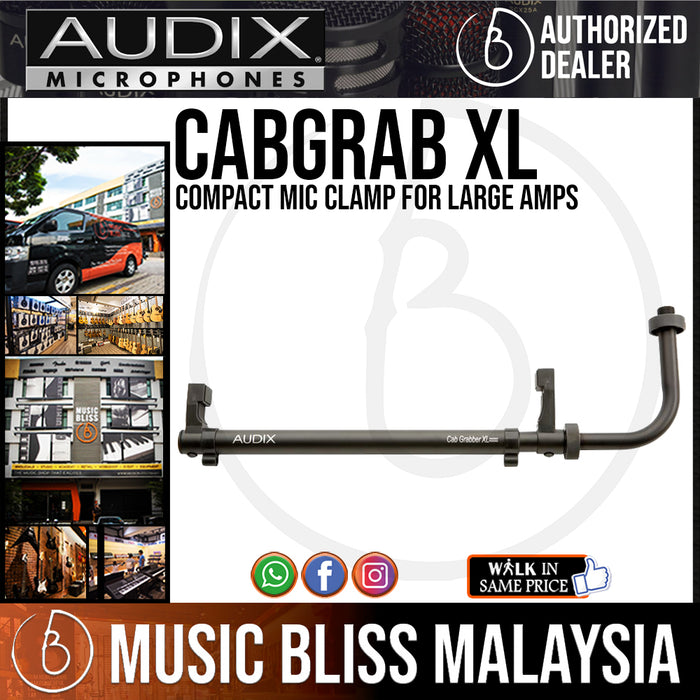 Audix CabGrabber XL Compact Mic Clamp for Large Amps - Music Bliss Malaysia