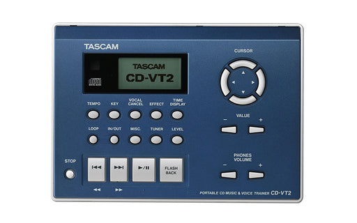 TASCAM CD-VT2 Portable CD Music/Vocal Phrase Trainer (CDVT2)
