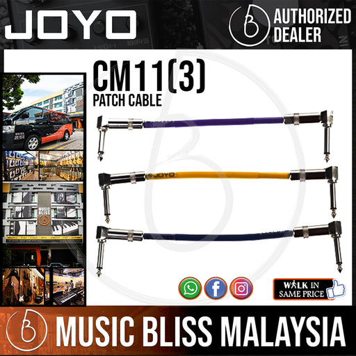 Joyo CM-11 Patch Cable (Package 3-units) - Music Bliss Malaysia