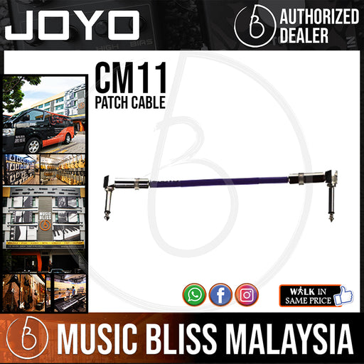 Joyo CM-11 Patch Cable (Package 1-unit) - Music Bliss Malaysia