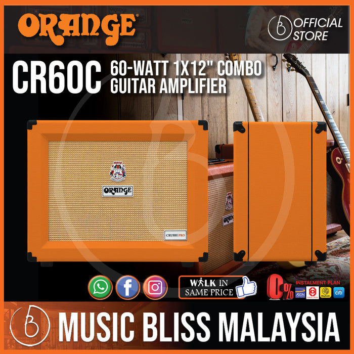 "Orange Crush CR60C 60-watt 1x12"" Combo Amp"