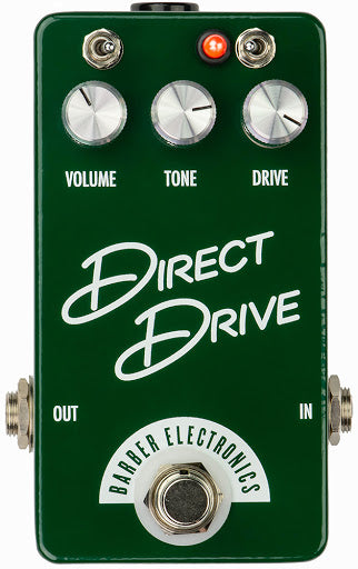 Barber Electronics Compact Direct Drive V4 Effect Pedal *Crazy Sales Promotion* - Music Bliss Malaysia