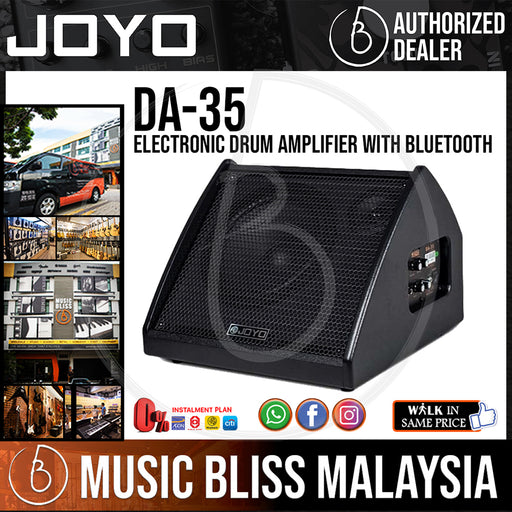 Joyo DA-35 35W Electronic Drum Amplifier with Bluetooth (DA35) - Music Bliss Malaysia
