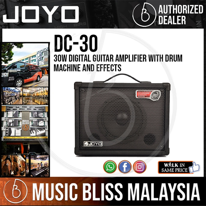 JOYO DC-30 30W Digital Guitar Amplifier With Drum Machine and Effects (DC30)