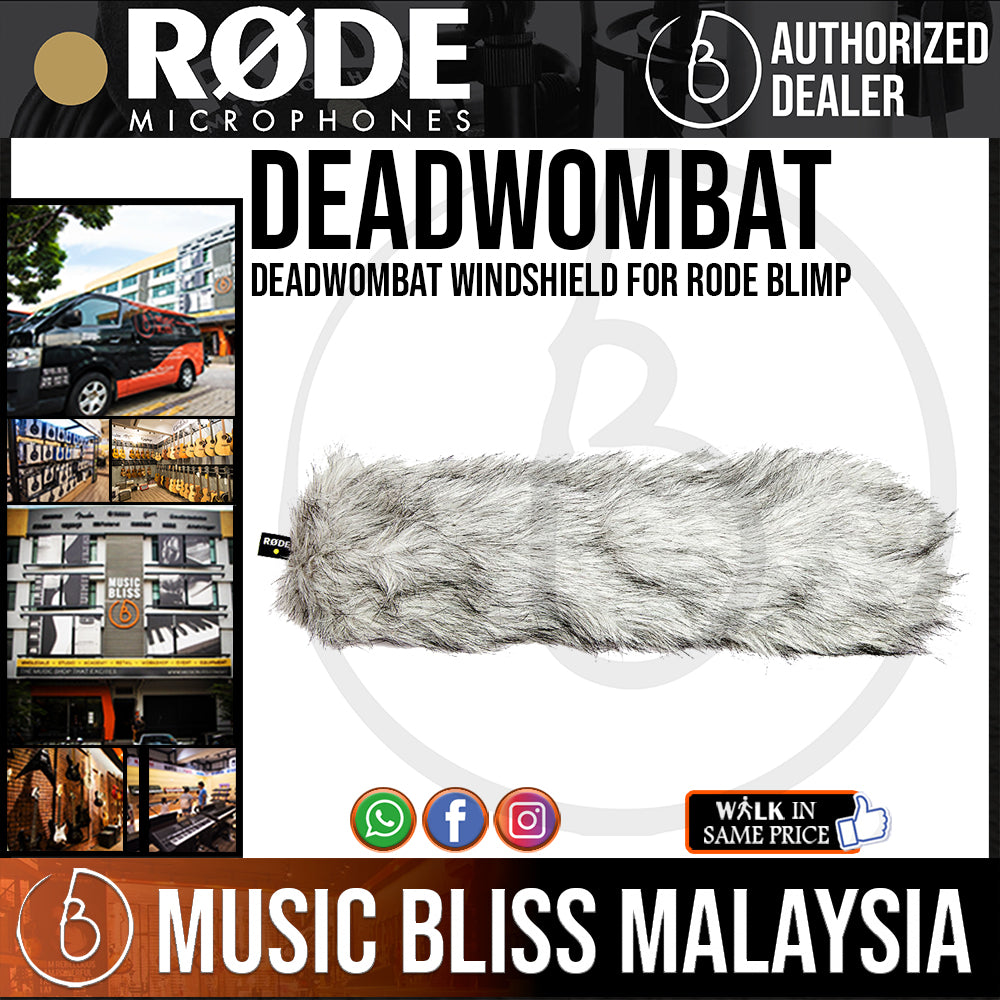 Rode DeadWombat Windshield for Rode Blimp (Dead Wombat) - Music Bliss Malaysia