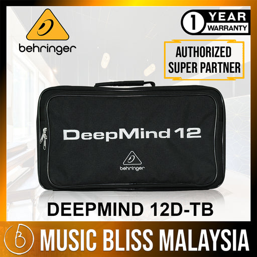Behringer DEEPMIND 12D-TB Deluxe Water Resistant Transport Bag for DEEPMIND 12D (DEEPMIND-12D-TB) * Crazy Sales Promotion *