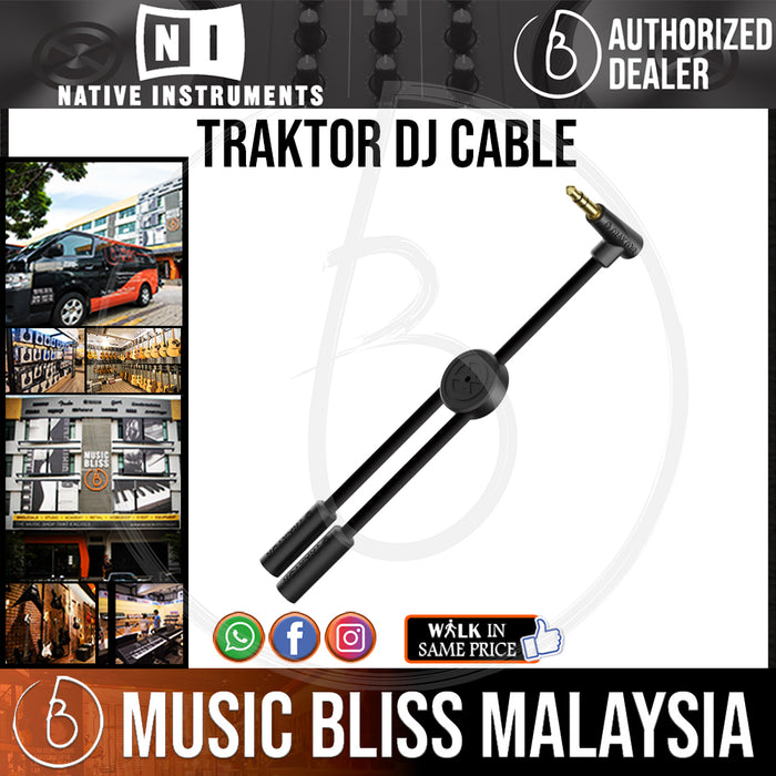Native Instruments Traktor DJ Cable - Music Bliss Malaysia