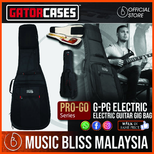 Gator G-PG ELECTRIC ProGo Ultimate Gig Bag for Electric Guitar (GPGELECTRIC)