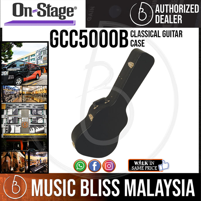 On-Stage GCC5000B Classical Guitar Case (OSS GCC5000B) - Music Bliss Malaysia