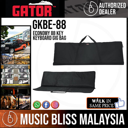 Gator GKBE-88 Economy 88 Key Keyboard Gig Bag (GKBE88)