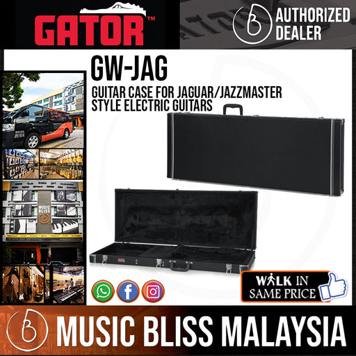 Gator GW-JAG Guitar Case for Jaguar/Jazzmaster Style Electric Guitars (GWJAG)