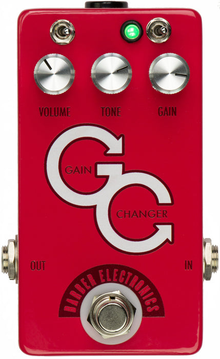Barber Electronics Gain Changer Overdrive Pedal - Red *Crazy Sales Promotion* - Music Bliss Malaysia