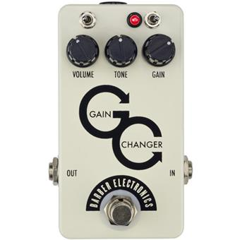 Barber Electronics Gain Changer Overdrive Pedal - White *Crazy Sales Promotion* - Music Bliss Malaysia