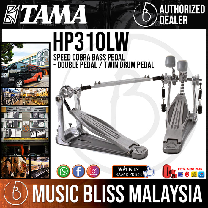Tama HP310LW Speed Cobra Bass Pedal - Double Pedal / Twin Drum Pedal *Crazy Sales Promotion* - Music Bliss Malaysia