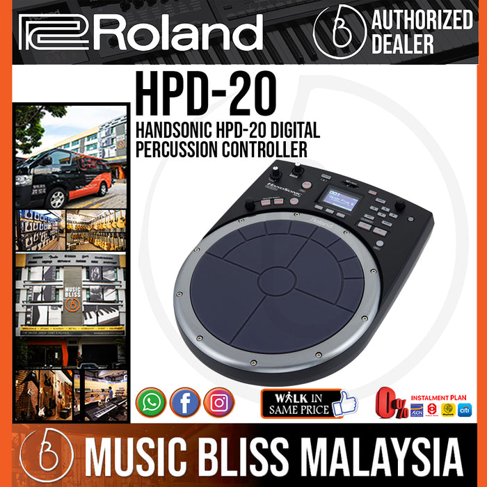 Roland HandSonic HPD-20 Digital Percussion Controller (HPD20) - Music Bliss Malaysia