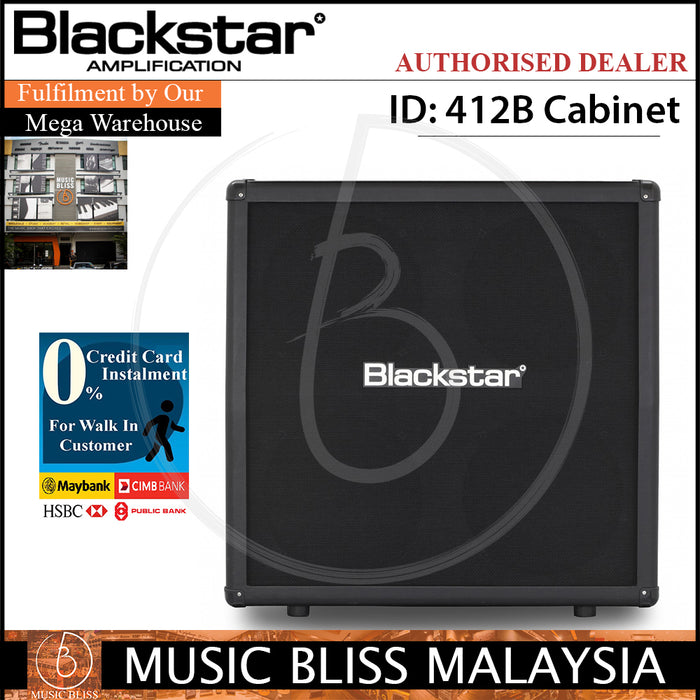 Blackstar ID 412B Extension Straight Cabinet (ID412B) - Music Bliss Malaysia