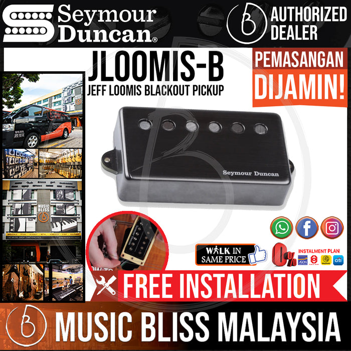 Seymour Duncan Jeff Loomis Blackout Pickup - Bridge