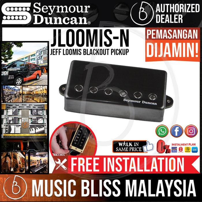 Seymour Duncan Jeff Loomis Blackout Pickup - Neck