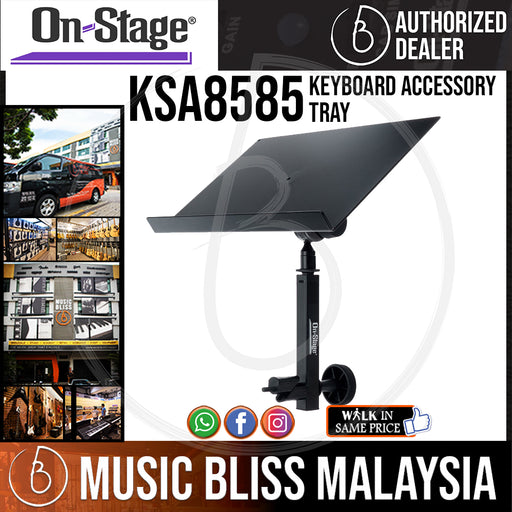 On-Stage KSA8585 Keyboard Accessory Tray (OSS KSA8585)