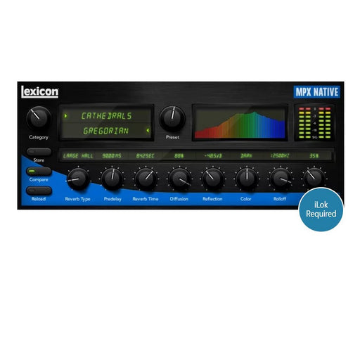 Lexicon MPX Native Reverb Plug-in Bundle (Electronic Serial Download) - Music Bliss Malaysia