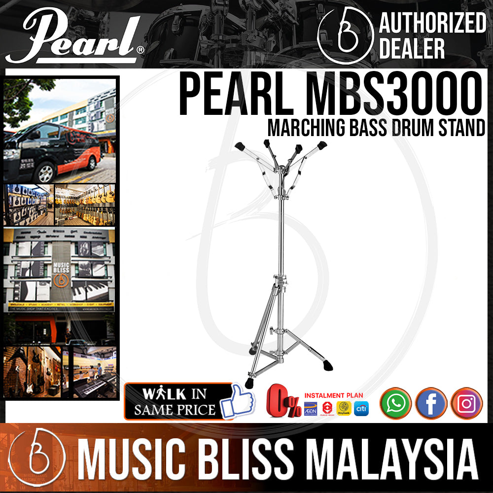 Pearl MBS3000 Marching Bass Drum Stand (MBS-3000) - Music Bliss Malaysia