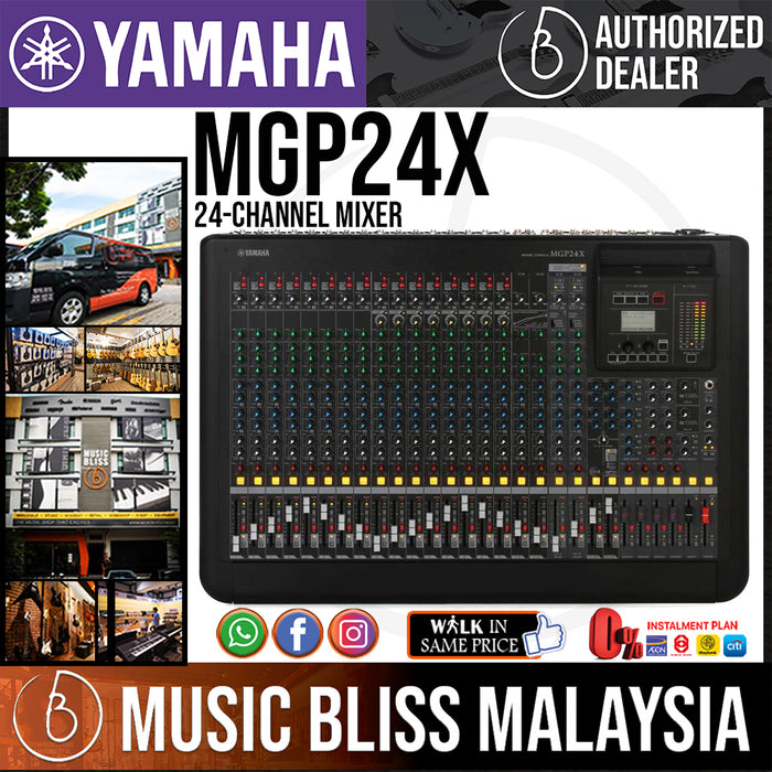 Yamaha MGP24X 24-channel Mixer with Effects (MGP-24X/MGP 24X) *Crazy Sales Promotion*