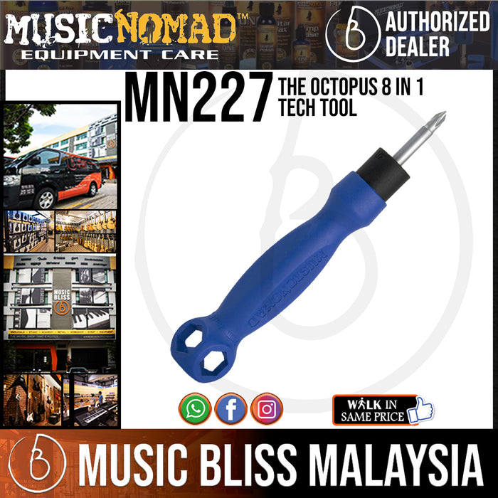 MusicNomad MN227 The Octopus 8  1 Tech Tool (MN-227) - Music Bliss Malaysia
