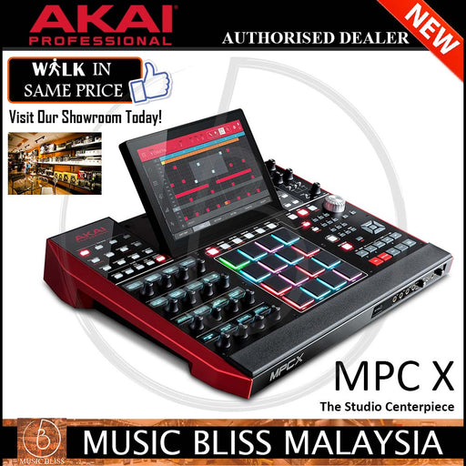 Akai Professional MPC X Full-Color Multi-Touch Display Standalone MPC - Music Bliss Malaysia