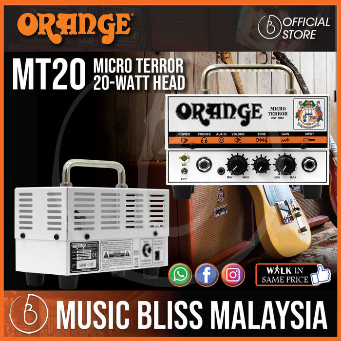 Orange Micro Terror 20-watt Head - Music Bliss Malaysia