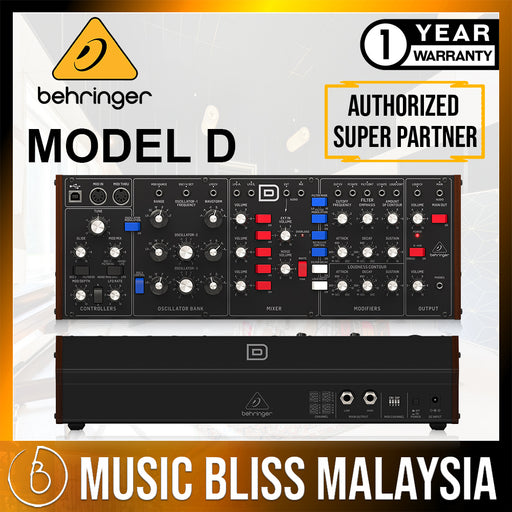 Behringer Model D Legendary Analog Synthesizer (Model-D) * Crazy Sales Promotion * - Music Bliss Malaysia
