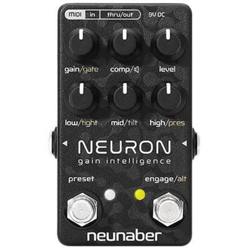 Neunaber Neuron Gain Intelligence - Preamp with Speaker Simulator & MIDI