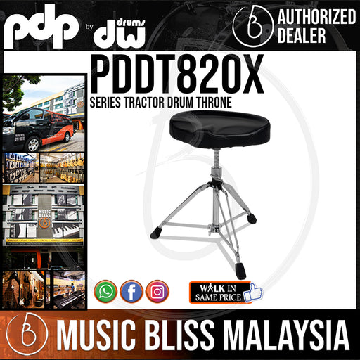 PDP by DW 800 Series Tractor Drum Throne (PDDT820X)