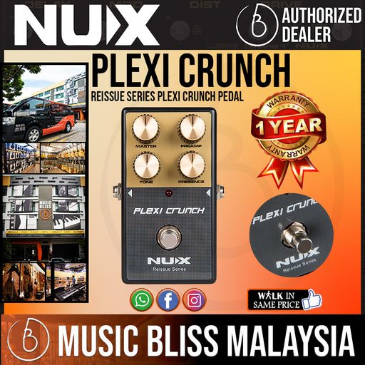 NUX Reissue Series Plexi Crunch Pedal - Music Bliss Malaysia