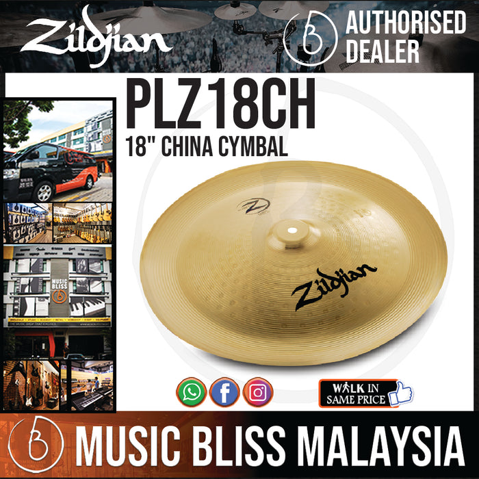 "Zildjian 18"" Planet Z China Cymbal (PLZ18CH) - Music Bliss Malaysia"