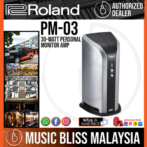 Roland PM-03 Personal Drum Monitor (PM03) - Music Bliss Malaysia