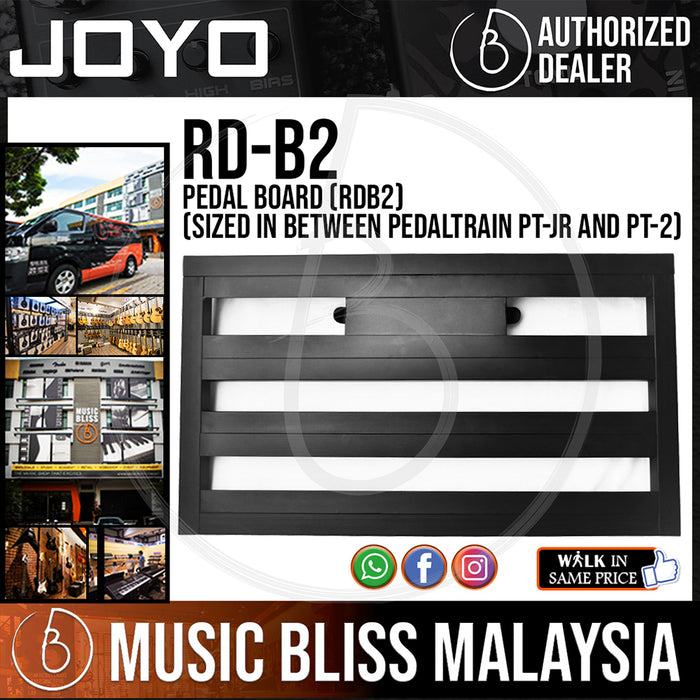 Joyo RD-B2 Pedal Board (RDB2) (Sized In Between Pedaltrain PT-JR and PT-2) - Music Bliss Malaysia