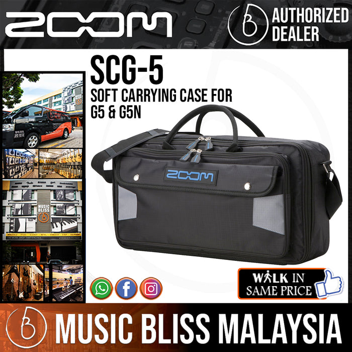 Zoom SCG-5 Soft Carrying Case for G5 & G5N (SCG5) - Music Bliss Malaysia