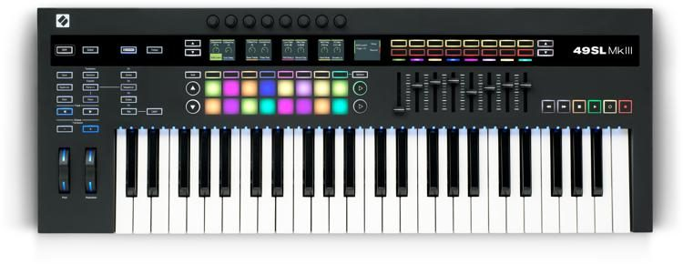Novation 49SL MkIII Keyboard Controller with Sequencer - Music Bliss Malaysia