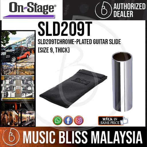On-Stage SLD209T Thick Chrome Guitar Slide (OSS SLD209T)