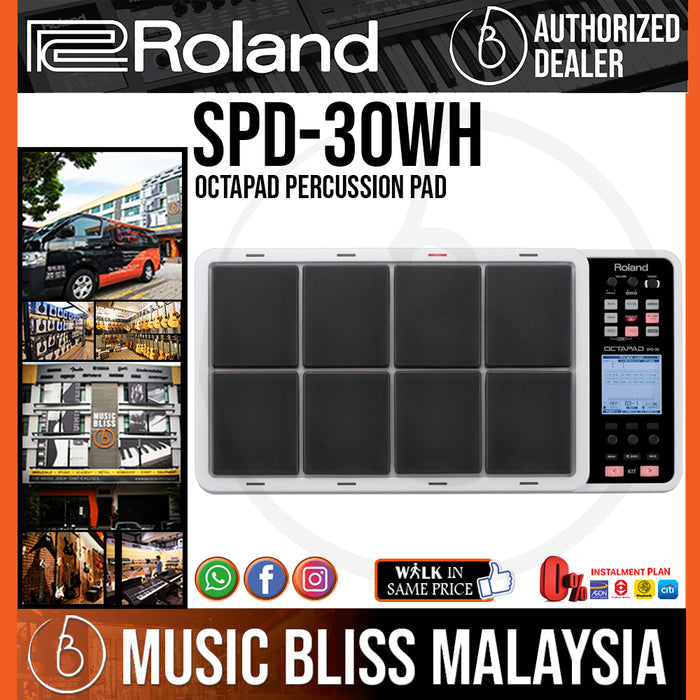 Roland Octapad SPD-30 Percussion Pad (SPD30) - Music Bliss Malaysia