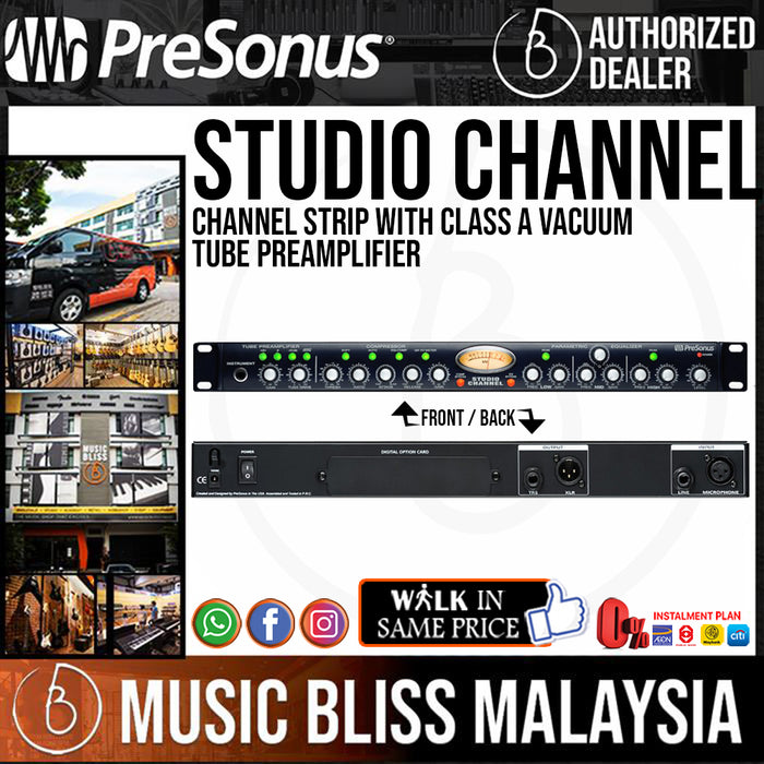 PreSonus Studio Channel Strip - Music Bliss Malaysia