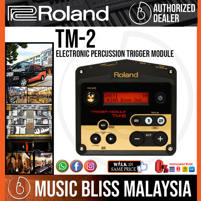 Roland TM-2 Trigger Module (TM2) - Music Bliss Malaysia