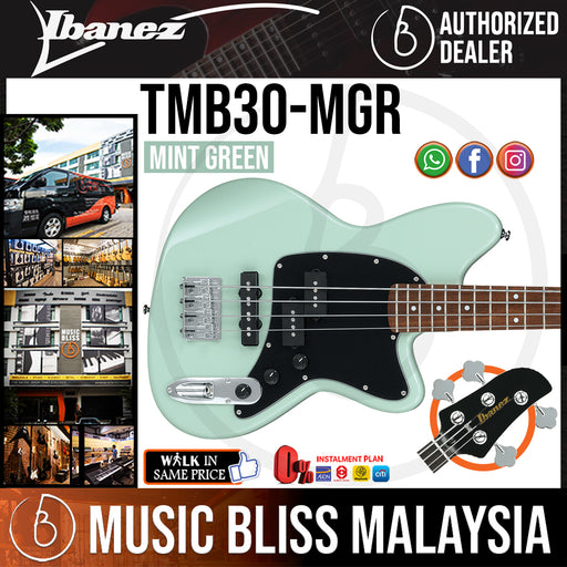 Ibanez TMB30 Talman Standard - Mint Green (TMB30-MGR) *Price Match Promotion* - Music Bliss Malaysia