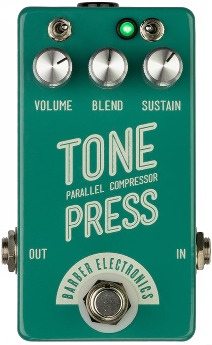 Barber Electronics Tone Press V2 Effect Pedal - Music Bliss Malaysia