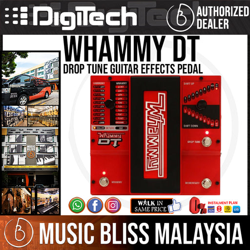 DigiTech Whammy DT Drop Tune Guitar Effects Pedal - Music Bliss Malaysia
